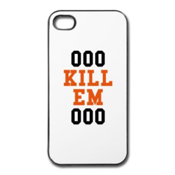 ooo kill em ooo iphone case