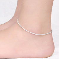 Fashion 925 Sterling Silver Anklet
