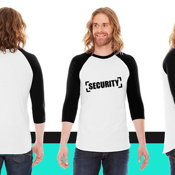 security design a1 American Apparel Unisex 3/4 Sleeve T-Shirt