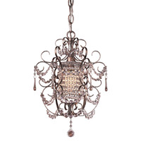Eden 1-Light Chandelier, Silver, Ceiling Chandeliers
