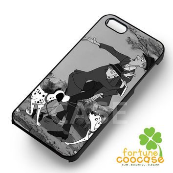 Dalmatians 101 Disney Couple with their dogs -trtr for iPhone 6S case, iPhone 5s case, iPhone 6 case, iPhone 4S, Samsung S6 Edge