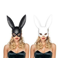 Ms. Rabbit Mask Black & White Cosplay
