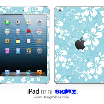 Hawaiian Flowers iPad Skin