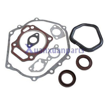 New Cylinder Head Exhaust Muffler Full Gaskets for Honda Gx390 13hp Engine