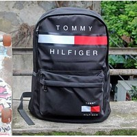 ''Tommy Hilfiger''Casual Sport Laptop Bag Shoulder School Bag Backpack