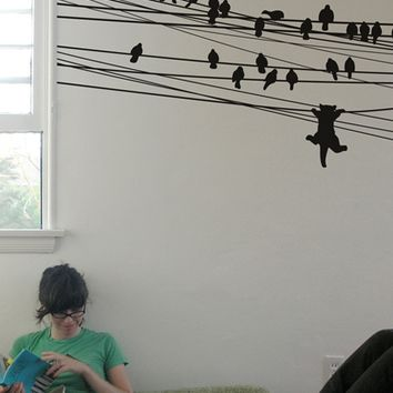 Blik Wall Decal - Ambition Killed the Cat