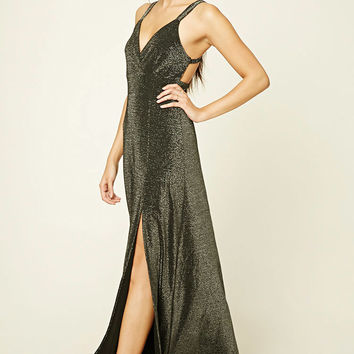 Contemporary Glitter Maxi Dress