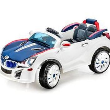 BMW I8 Vision Style 12V Kids,Boys, Girls Electric Ride On Car Toy with RC + Gift