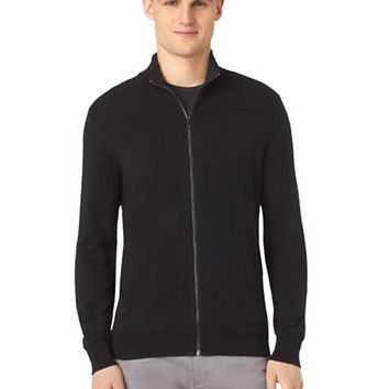 Calvin Klein Merino Wool Wave Rib Sweater