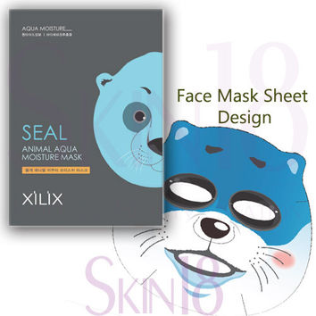 Xilix Seal animal AQUA moisture mask sheet (Moisture)  *exp.date 05/18*