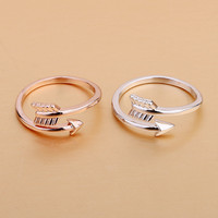 Gift Jewelry Stylish New Arrival Shiny Couple Accessory Ring [4915699268]