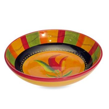 Certified International Caliente 13-Inch Serving/Pasta Bowl