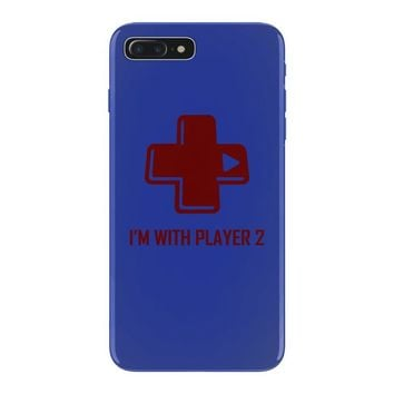 i'm with player 2 video game gamer computer geek nerd funny tee shirt iPhone 7 Plus Case