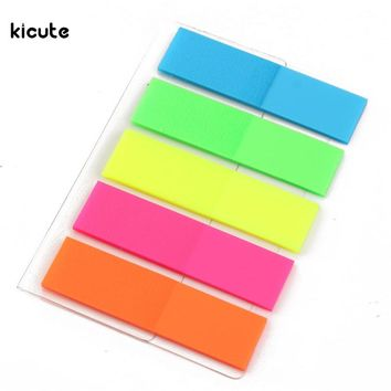 Colorful Novelty Memo Note Paper Sticky Adhesive Post Highlighter Index Tab Flags Page Notebook Marker School Memo Papers Pads