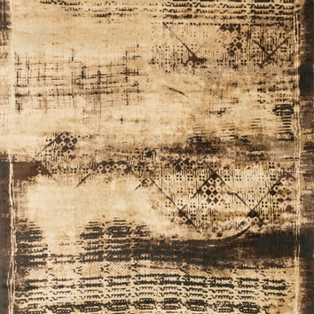 "Loloi Rugs - Mystique - 2'-6"" X 7'-9"" - Flax / Expresso"