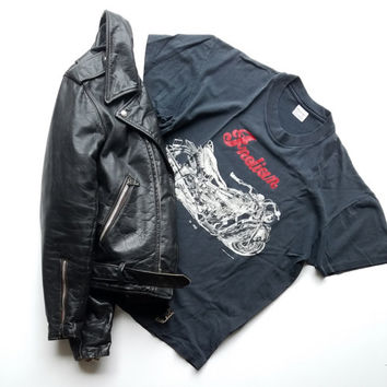 Indian Motorcycles T Shirt 80s Biker Gear