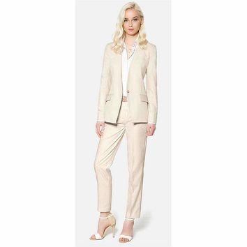 Women Evening Pant Suits Women Trouser Suit One Button Ladies Business Suits Female Work Wear Suits Custom Made