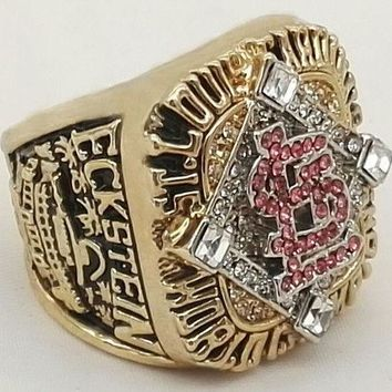 """SPORTS RING * 2006 ST LOUIS """"CARDINALS"""" WORLD * CHAMPIONS/ shipping from USA"""
