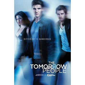 tomorrow people poster Metal Sign Wall Art 8in x 12in