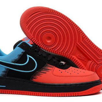PEAPON Nike Air Force 1 Spider-Man Red For Women Men Running Sport Casual Shoes Sneakers