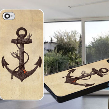 Lost at Sea Anchor Case for iPhone 4,iPhone 4S,iPhone 5,iPhone 5S,iPhone 5C,Samsung Galaxy S2 / S3 / S4