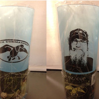 Duck Dynasty / Duck Commander - Uncle Si Tea Cup Blue - 16 oz. - Si Face on Back