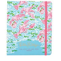 Large Agenda Covered Spiral - Lobstah Roll - Lilly Pulitzer