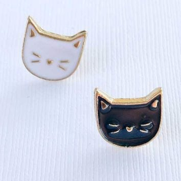 Getting Meowied Enamel Pins