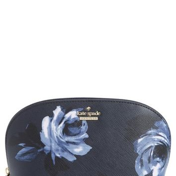 kate spade new york cameron street night rose - small abalene cosmetics bag | Nordstrom