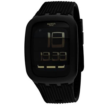 Swatch Men's Black district Watch (SURB112C)