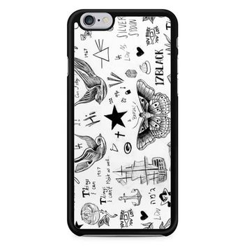 Harry Styles Tattoos iPhone 6/6S Case