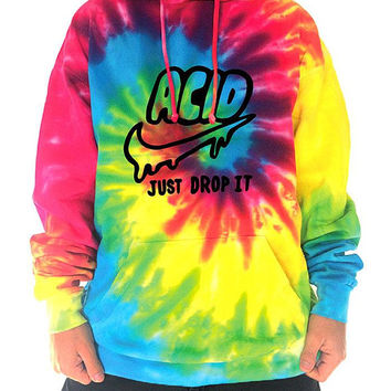 acid-just-drop-it-rainbow-batik-hoodie-psychedelic-drugs-lsd-tie-dye-goa-klamotten-kleidung-clothing-psytrance-monotobi-festival-hippie