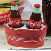 Coke on Ice Salt and Pepper Shakers