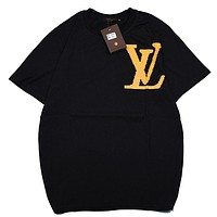 Louis Vuitton LV  Women Men Fashion Casual  Short Sleeve