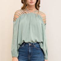 Sadie Strappy Accent Top