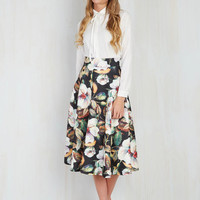 Portrayed in Portrait Skirt | Mod Retro Vintage Skirts | ModCloth.com
