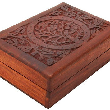 Best Hand Carved Jewelry Box Products on Wanelo