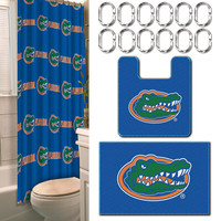 Florida Gators NCAA 15-Piece Bath Set