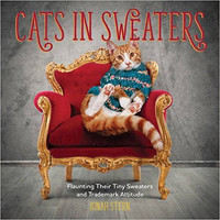 Cats in Sweaters Book by Jonah Stern