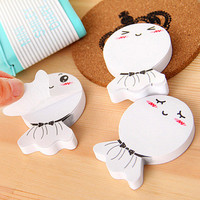 Japan South Korea Stationery Sunny Doll Stickers stickers Notes Sticker School Office Supply Memo Pad Brand Stickers