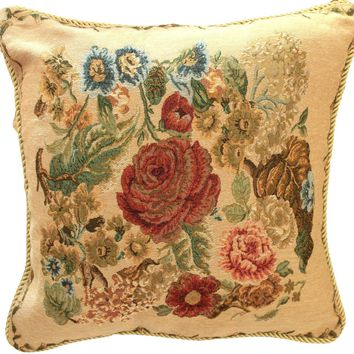 Tache Country Rustic Morning Meadow Throw Pillow Cushion Cover