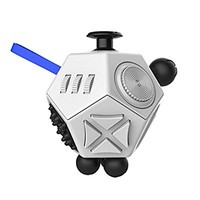 Coopei Fidget toys Cube for Fidgeters! Stress Relief Anxiety Attention Desk Toy for Adult and Children