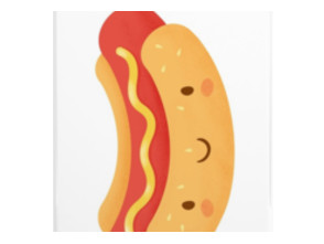Happy Hot Dog