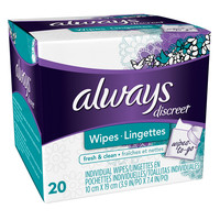Always Discreet Wipes-to-Go Fresh & Clean | Walgreens