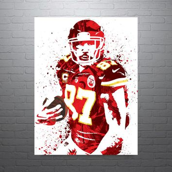 Travis Kelce Kansas City Chiefs Poster