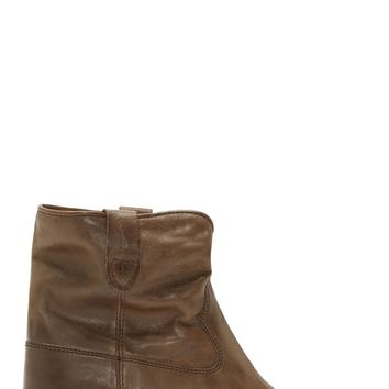 Isabel Marant Brown Leather Cluster Boots