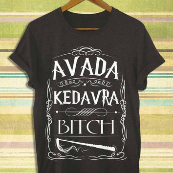 Screenprint funny popular shirt on etsy Harry Potter Death Scenes Avada Kedavra for t shirt mens, t shirt woman available size by RnhKaos