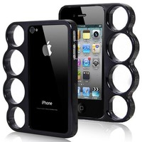 Inked Black Knuckle Duster Iphone Case