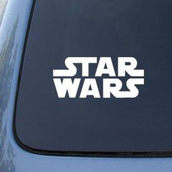 Star Wars Movie Logo Car, Truck, Notebook, Vinyl Decal Sticker