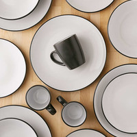 16-Piece Vivendi Dishware Set - Urban Outfitters